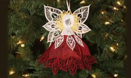 2012 Heirloom Poinsettia Angel