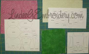 LindeeGEmbroidery-Select & prepare fabrics for applique