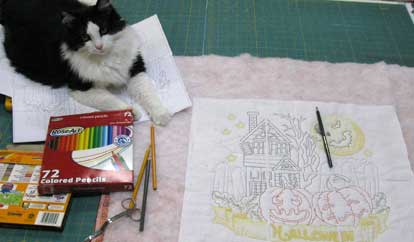 Coloring Your Embroidery