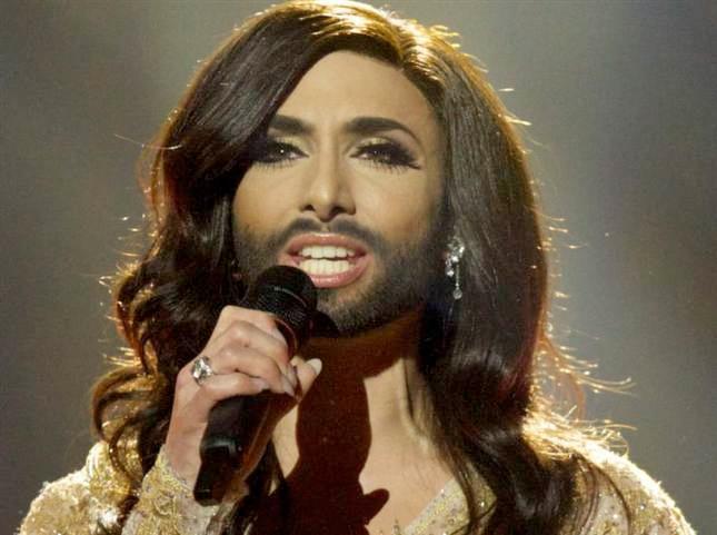 Conchita Wurst vann Eurovision Song Contest 2014. Bild från Expressen.se