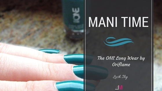 Mani time: Oja The ONE Long Wear – Lush Ivy by Oriflame