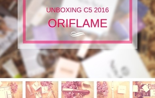 unboxing oriflame c5 2016
