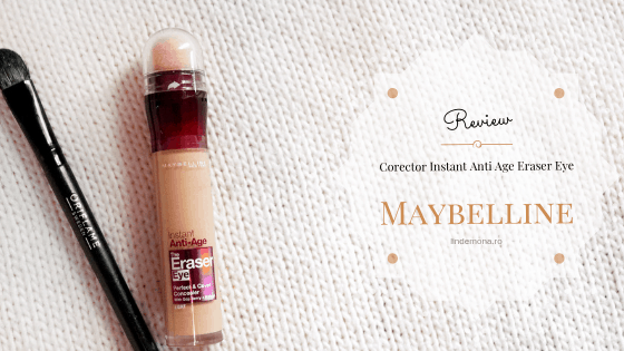 Review Corector Instant Anti Age Eraser Eye Maybelline