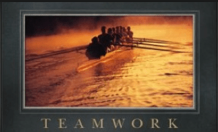 Leadership and teamwork, rowing style