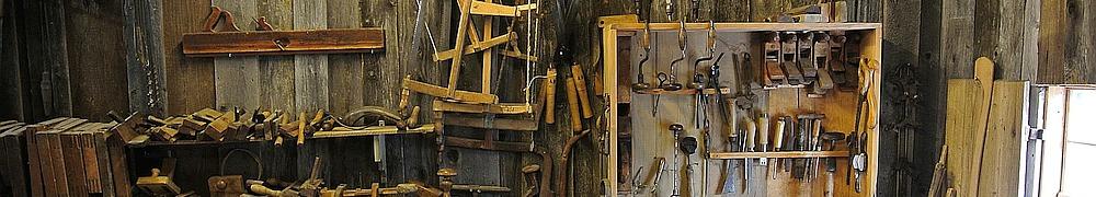 Werkstatt eines Schreiners
