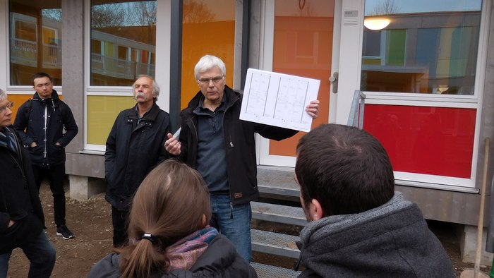 Architekt erklärt Unterkunft Steigertahlstrasse