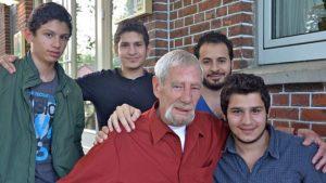 Kapitän Schwandt und die 4 Brüder aus Damaskus