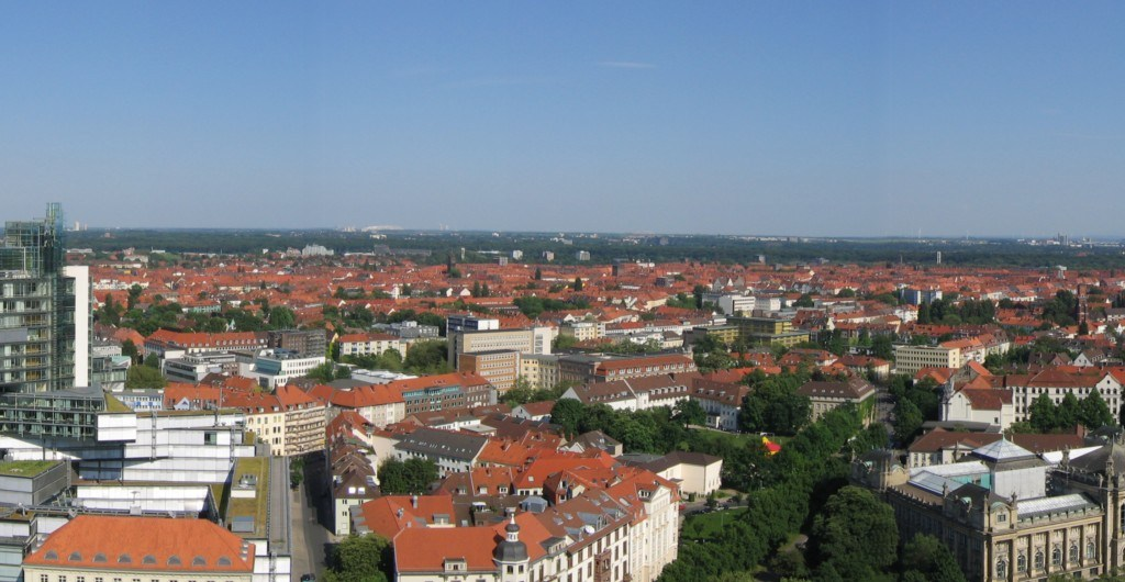 Hannover Panorama Blick nach Süd-Ost