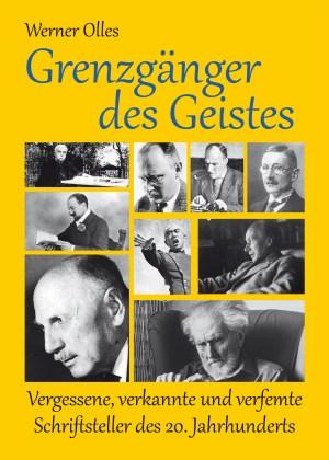 Grenzgänger des Geistes. Vergessene, verkannte und verfemte Schriftsteller des 20. Jahrhunderts. Buch von Werner Olles
