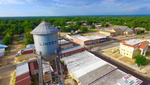 Water Tower Wells Drone