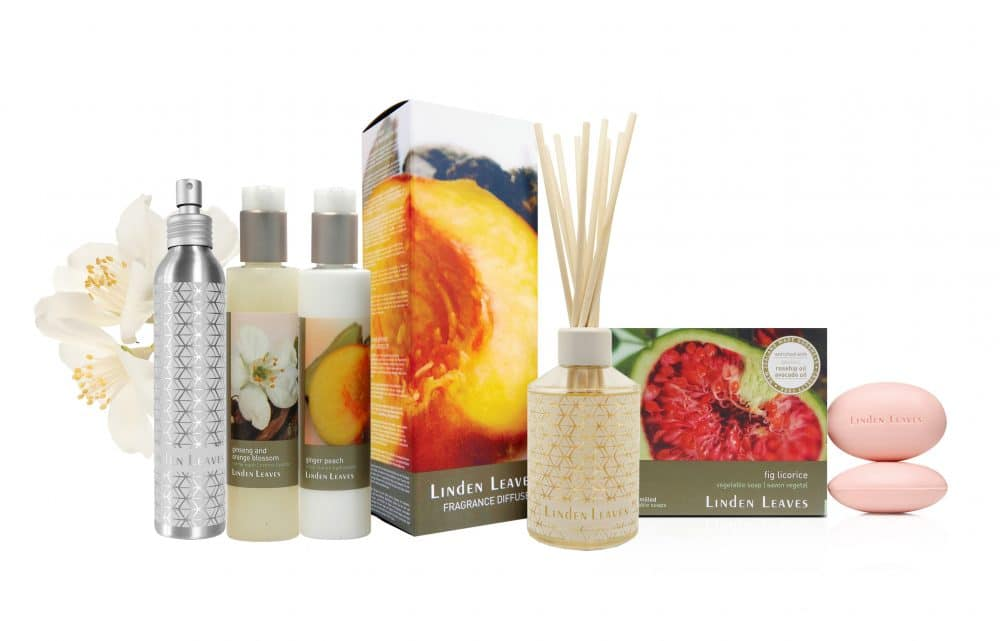 Linden Leaves Bathtime Range