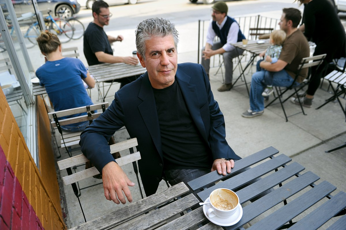 anthony bourdain kitchen confidential garbage cans walmart linden tree library