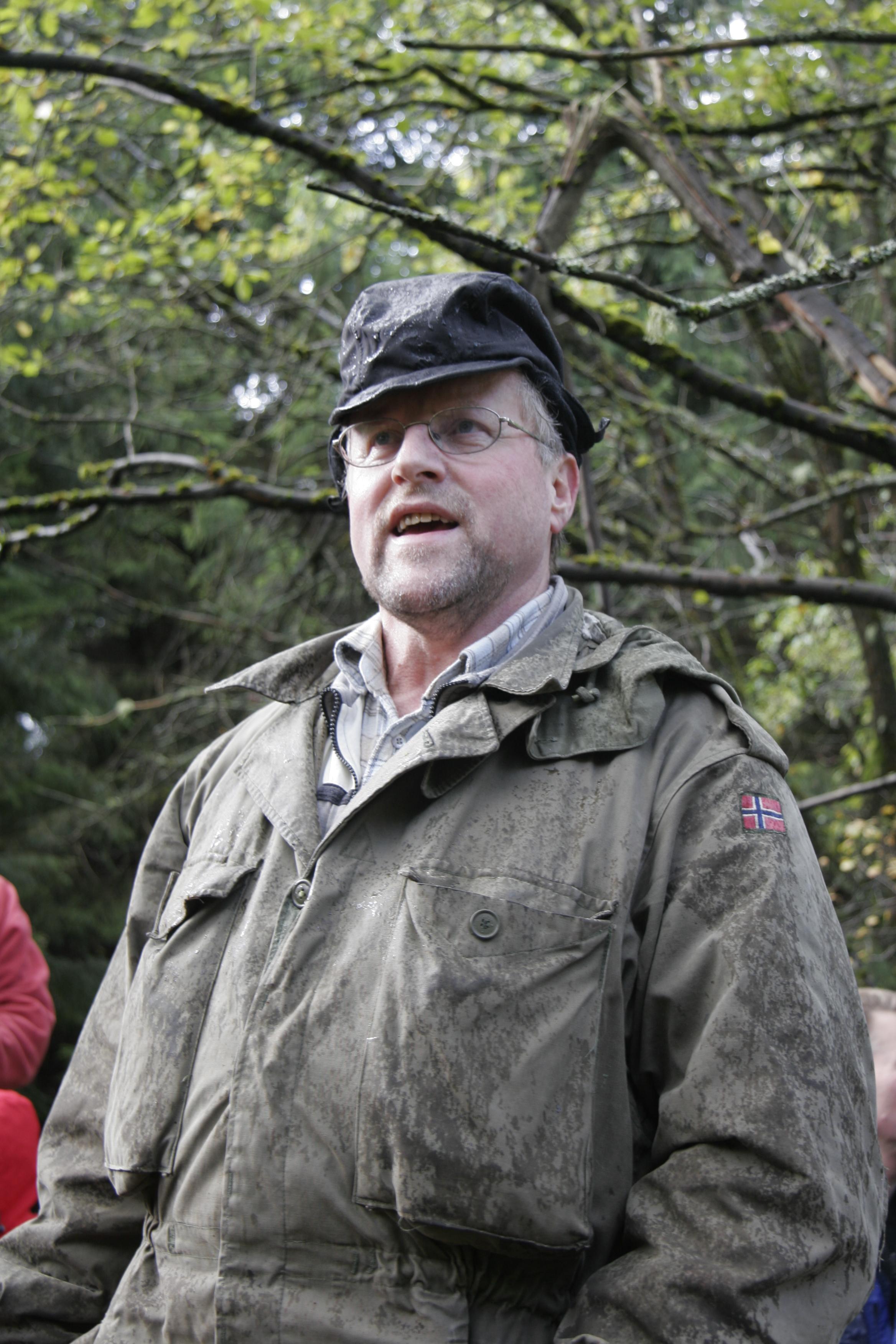 Jon Harald Rømteland forteller