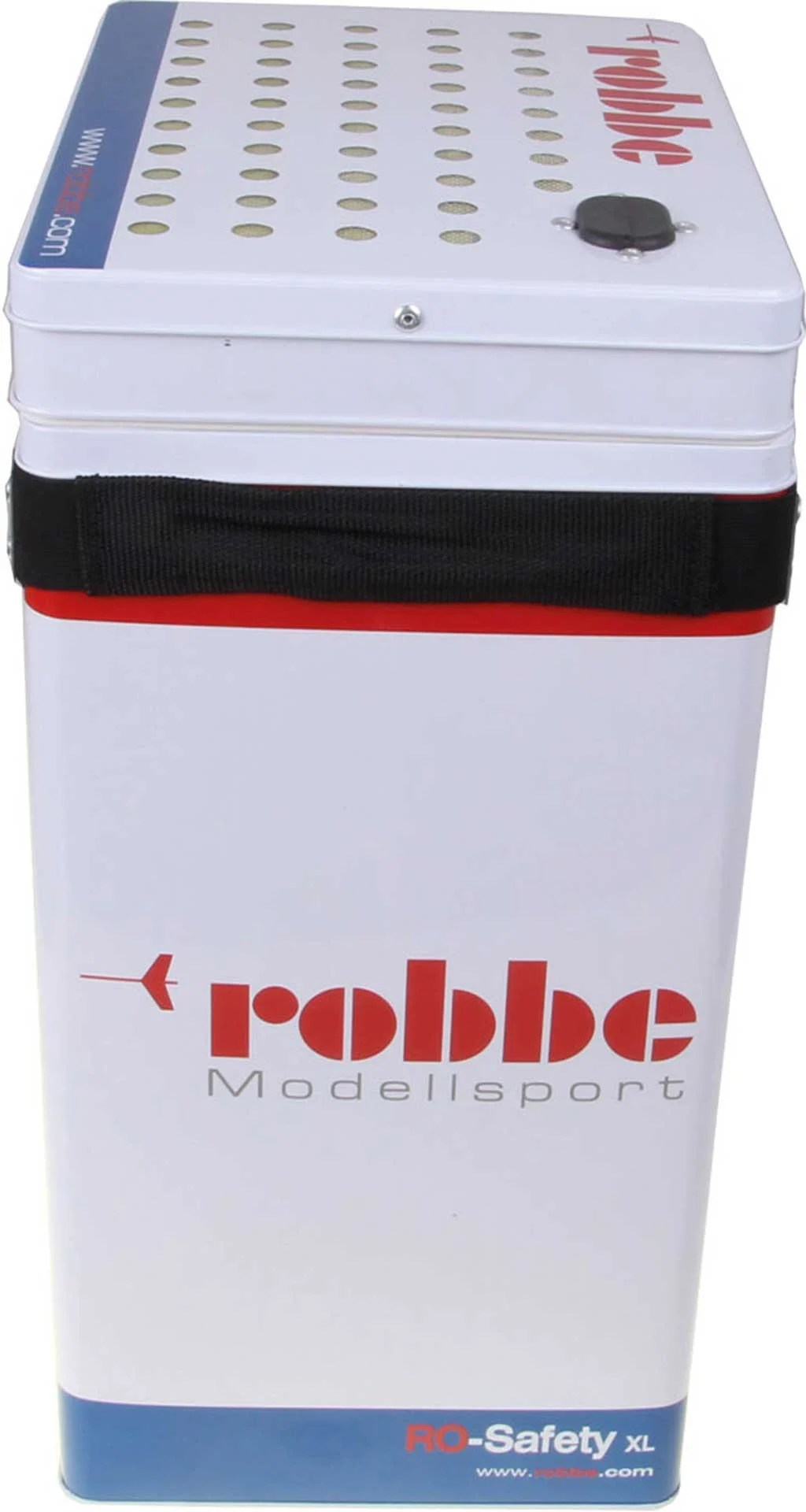Robbe Modellsport Ro Safety Xl Lipo Safe Transport And Charging Case For Lipo Battery Buy Now At Modellbau Lindinger