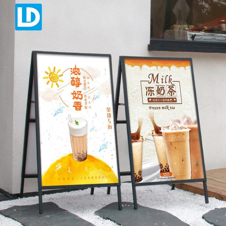 outdoor sidewalk signs poster stand a