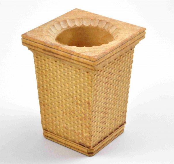 Basket Weave Basket