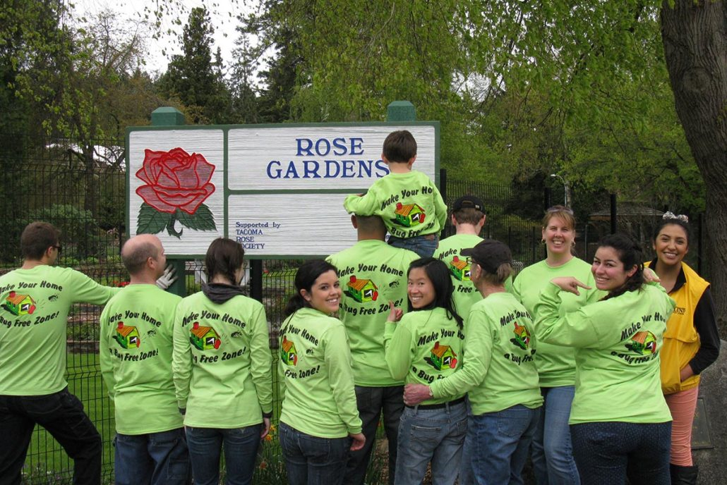 Parks Appreciation community service group