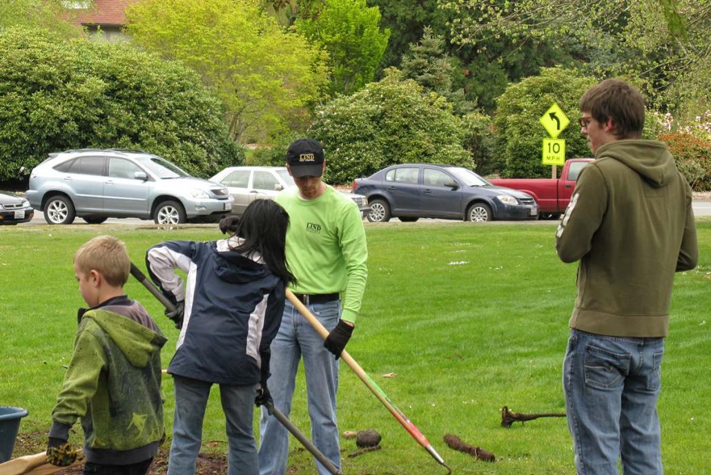 Parks Appreciation community service group