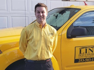 Lind Pest Control employee, Keith Smith