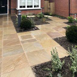 chorley front garden design 1a