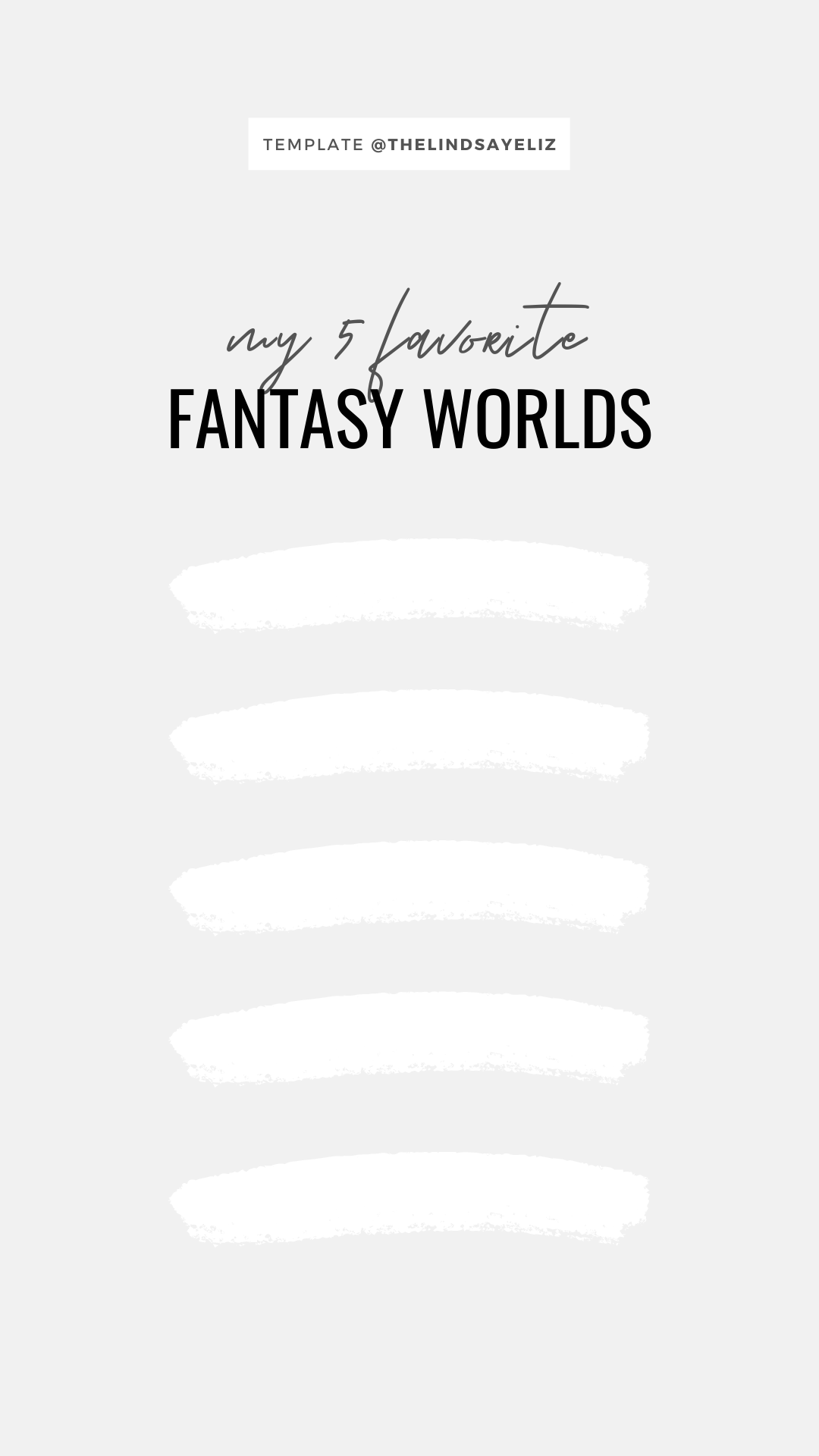 Fill out these fun Instagram story templates for fantasy lovers to share your favorite books, preferences, and reviews with your followers and keep them posted on your current fantasy reads. #bookish #igstories #igtemplates #templates #bookastagram