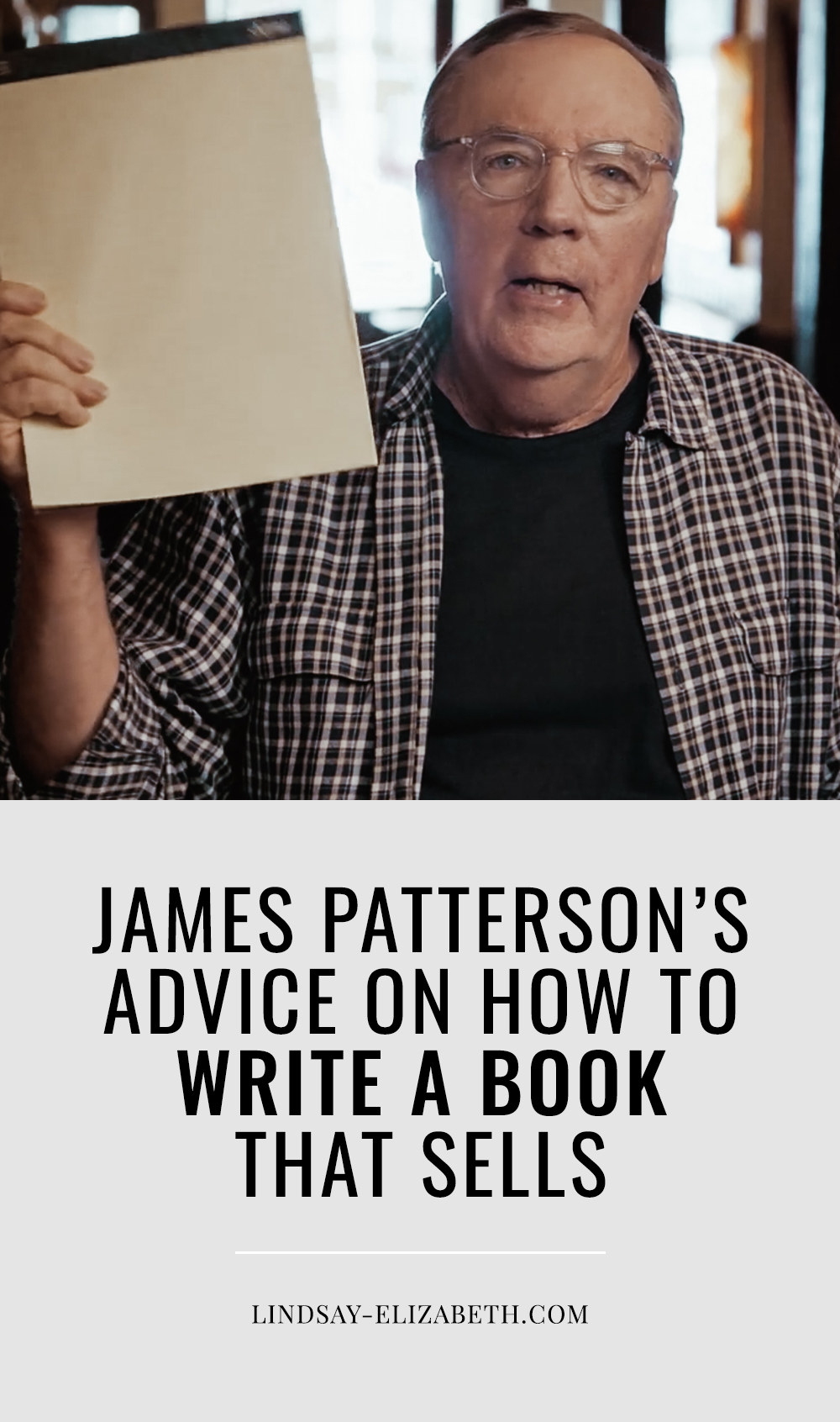 Get insight into how to write a bestseller from the world record holder himself, James Patterson, in his MasterClass on writing. He walks you through his process and shares advice on every step of the journey of writing a book, from coming up with ideas to marketing your book so it will sell. #writers #authors #writingadvice #writingtips