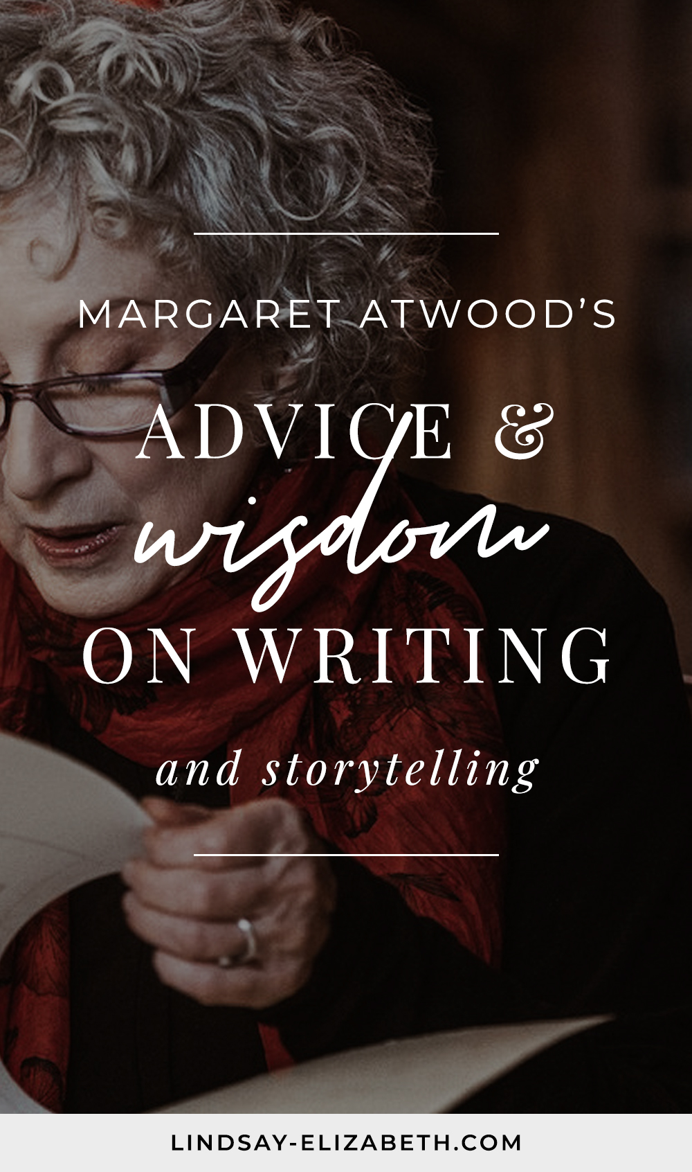Get insight into the craft of writing and storytelling from one of the greats, Margaret Atwood (the esteemed author of The Handmaid's Tale and other popular works of speculative and dystopian fiction) from her MasterClass on creative writing as she shares her rich experience on topics on everything from story and plot to creating compelling characters. #writers #authors #writingtips