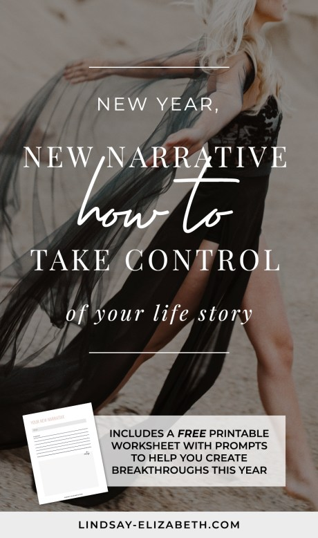 The stories we tell ourselves about who we are and what is possible directly affect our ability to create change. If you've been hoping for a breakthrough, it starts with checking in on your limiting beliefs that are unconsciously holding you back. Download the New Life Narrative worksheet to take control of your life story.