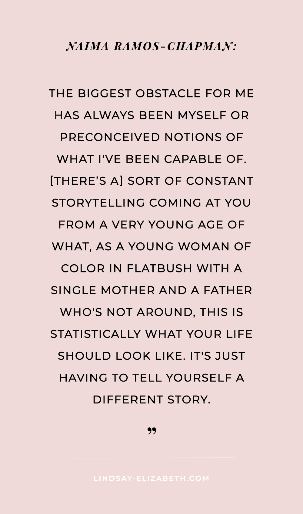 Inspiring quote from the documentary Seeing is Believing: Women Direct by Cady McClain || creativity quote / creative living / female creatives / female writers / female filmmakers / female directors / women in film