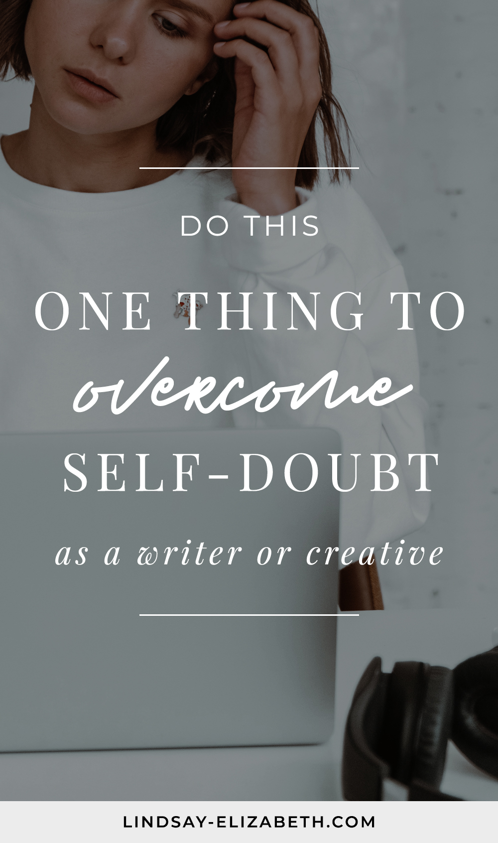 """How often do you tell yourself you """"can't"""" or """"shouldn't"""" do something when creating? All of these self-imposed limitations spring from self-doubt. To fully embrace our creativity, we have to first give ourselves permission to trust ourselves. Follow these tips to help you overcome self-doubt as a writer and creative and fully embrace your creativity. #selfdoubt #writingabook #writinganovel"""
