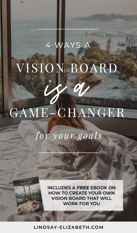 Want to finally get focused, sustain motivation, and consistently move forward toward your goals? If you haven't made a vision board yet, here are 4 major reasons why you should (along with a free ebook that will take you through the process of making an effective one)!