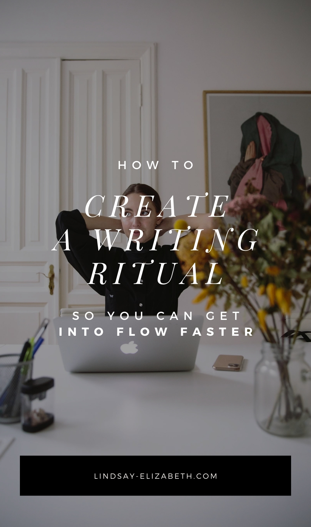 A personalized writing ritual can prime your mind and clear away distractions so you can more easily slip into a state of creative focus. By doing certain things before every session, you create triggers that send cues to your brain that it's time to write. To create your own writing ritual that will help you get into the zone and write faster, follow the tips in this post.