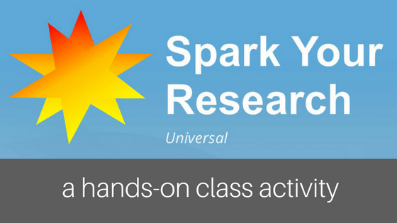 Spark Your Research: In-Class Activity