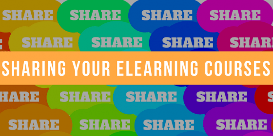 Sharing Your eLearning Courses