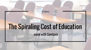 Spiraling Cost of Education Video