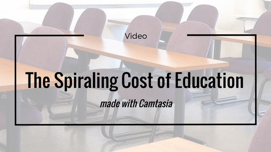 Spiral Cost of Education Banner