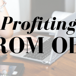 Blog post title: Profiting from OER