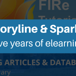 Storyline and sparks five years of elearning
