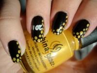 Nail Art Designs Black And Yellow | www.pixshark.com ...