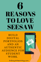 Using Seesaw to Create Digital Portfolios