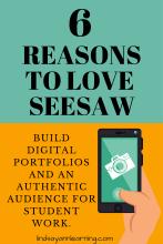 Using Seesaw to Create Digital Portfolios