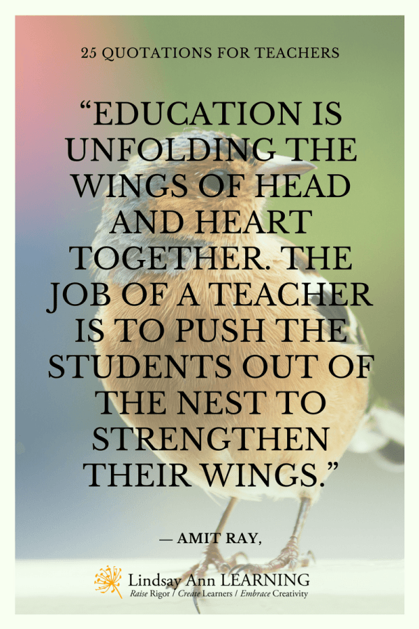 Quotes Teaching Lindsay Ann Learning