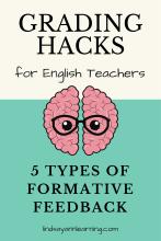 Types of Writing Feedback for English Language Arts Teachers