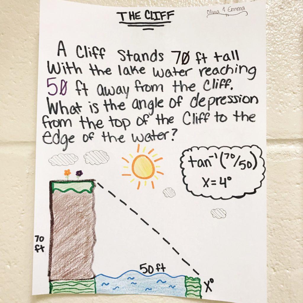 Trigonometry Lesson Word Problem Activity