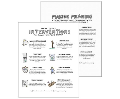 Therapy Interventions for Families with Young Children