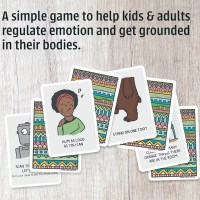 Trauma-Sensitive Mindful-Grounding Card Deck for Parents, Teachers, and Therapists