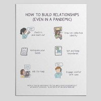 An Illustrated Resource on How to Build Relationships in a Pandemic
