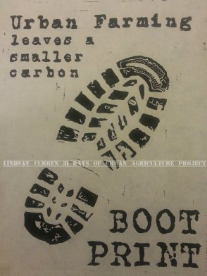 Climate boot print