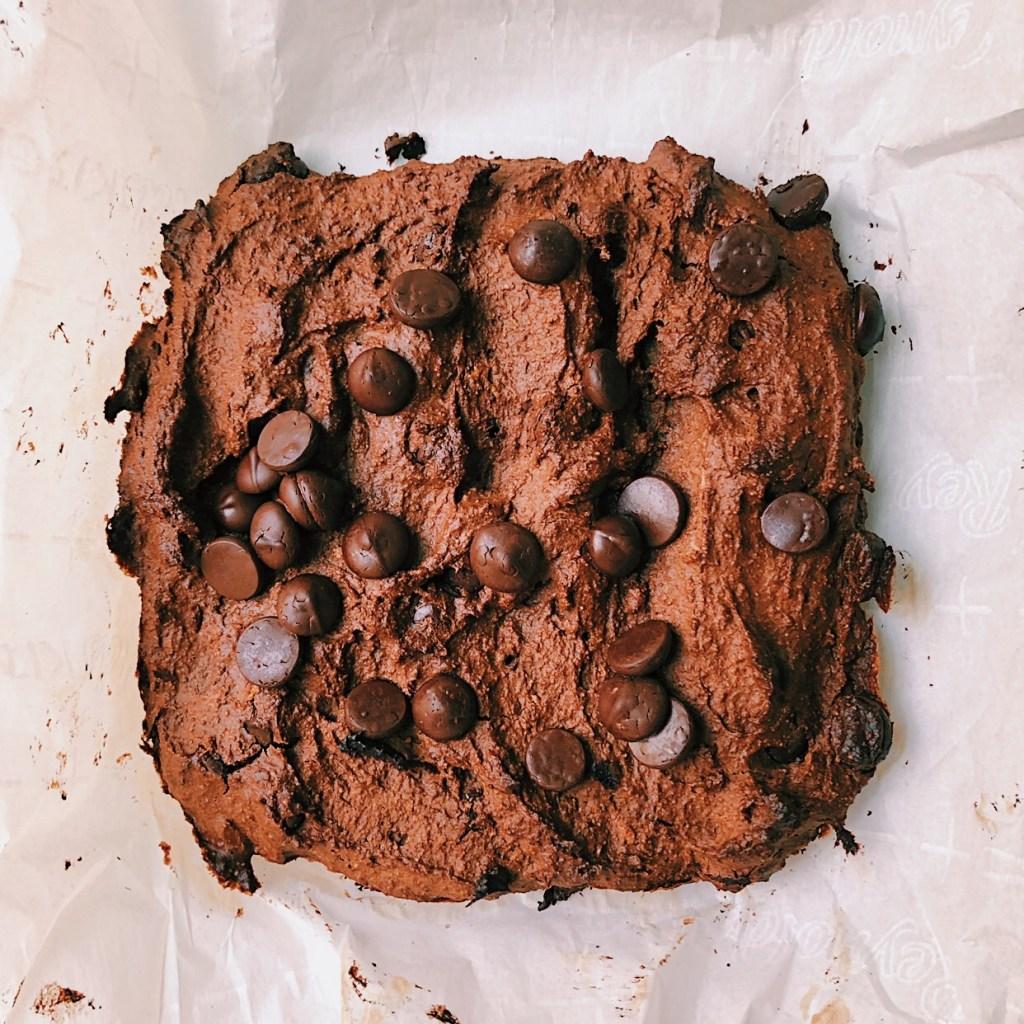 Avocado Fudge Brownies
