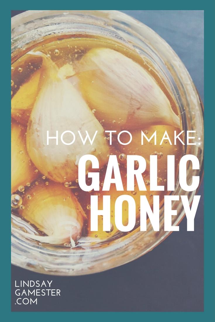 Garlic Honey Recipe